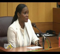 Usher & Tameka Raymond Emergency Custody Hearing  (Part 1 of 2)