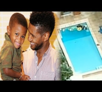 Usher's Son in ICU After Near Drowning