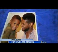 Usher's Son Near Pool Drowning Experience Raymond V Hospitalized Expected Full Recovery