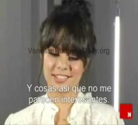 Vanessa Hudgens 7 Things Entrevista Subtitulado En Español Video By Fotsa