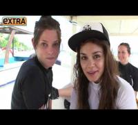 Vanessa Hudgens & Ashley Greene Go Surfing