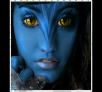 Vanessa Hudgens Avatar Photoshop Makeover