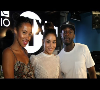 Vanessa Hudgens does Eastenders (kind of) on 1Xtra Breakfast