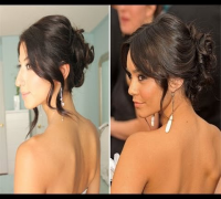 Vanessa Hudgens Inspired Glam Up-Do