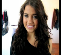 Vanessa Hudgens Inspired Hair Tutorial