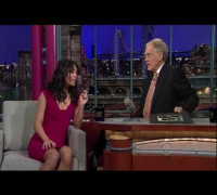 Vanessa Hudgens on The Late Show with David Letterman (March 2, 2011)
