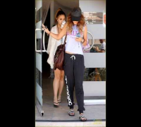 Vanessa Hudgens: Out In Los Angeles With Stella (September 8)
