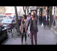 Vanessa Hudgens Tells Paparazzi To Shut Up While Out For A Stroll in NYC With Austin Butler