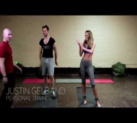 VICTORIA'S SECRET Fashion Show Workout - With Angel Candice Swanepoel