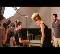 Victoria's Secret Inside Doutzen Kroes Flare Cover Shoot