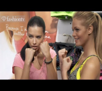 Victoria's Secret Sportswear Collection with Erin Heatherton & Adriana Lima | FashionTV