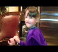 Video from Milla Jovovich's Thanksgiving Day 2012