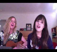 "Videochat Karaoke with Zooey Deschanel   Abigail Chapin - ""If I Could Only Win Your Love"""