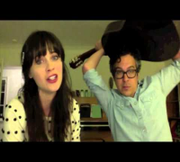 "Videochat Karaoke - Zooey Deschanel   M.Ward - ""Stars Fell On Alabama"""