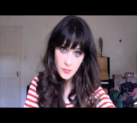 Videochat Karaoke - Zooey Deschanel, Yesterday Once More