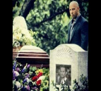 Vin Diesel beginning of grave for Paul Walker