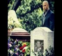 Vin Diesel beginning of grave for Paul Walker