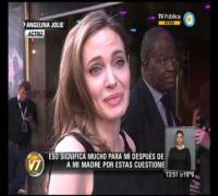 Visión 7: La reaparición pública de Angelina Jolie