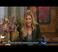 VS Angel Doutzen Kroes interview - NY PIX Morning show (December 2009)