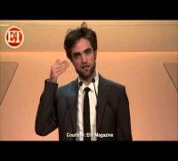 Watch Robert Pattinson Honor Uma Thurman
