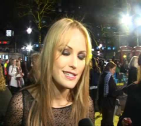 Watchmen - Malin Akerman talks at the UK Premiere
