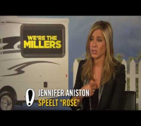 We're The Millers - Interview Jennifer Aniston, Will Poulter - Pathé