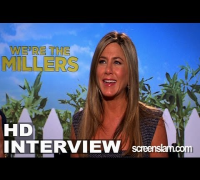 We're The Millers: Jennifer Aniston and Jason Sudeikis Interview (08/07/2013)