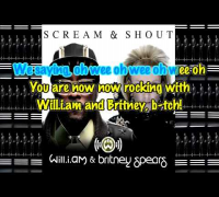 Will I. Am. & Britney Spears- Scream and Shout (karaoke/instrumental)