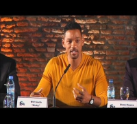 Will Smith and Margot Robbie ignore rumours as they host press conference