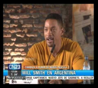 WILL SMITH EN ARGENTINA - CONFERENCIA DE PRENSA