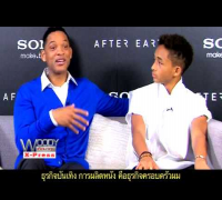 Will Smith kisses his son Jadan on the lips on The Woody Talk Show