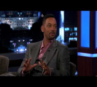 Will Smith on Jimmy Kimmel Live PART 1