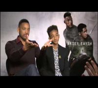 "Will Smith ""regaña"" a su hijo en la promoción de ""After Earth"""