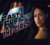 WOMEN of FAST 6 -  Michelle Rodriguez, Gina Carano, Jordana Brewster