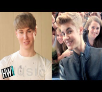 WTF! Justin Bieber Look-A-Like Spent $100K On Plastic Surgery