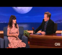 Zooey Deschanel channels Elvis