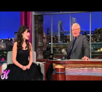 Zooey Deschanel Full Interview With David Letterman - May 7 2013