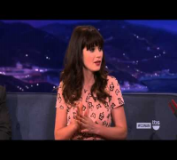 Zooey Deschanel on Conan - September 16, 2013 - FULL Interview HD