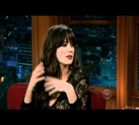 Zooey Deschanel on Craig Ferguson 2 HD