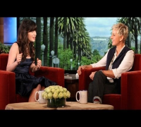 Zooey Deschanel on Her 'Grumpy Emmy Face on Ellen Show
